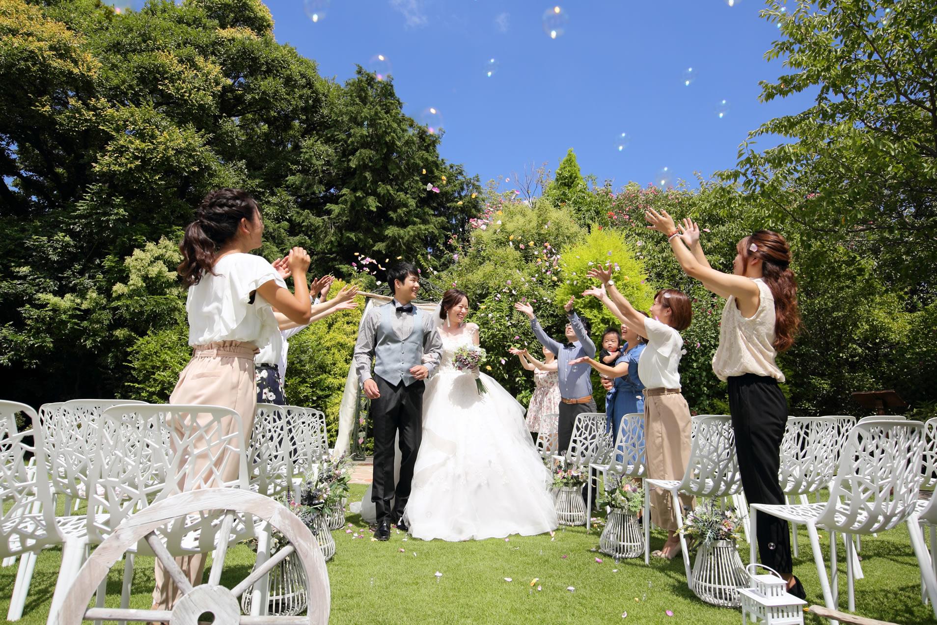 結婚式場「グランシェル岡崎」にて撮影も可能
